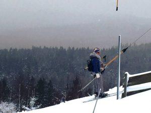 Der Skilift am Paulusberg wurde nun doch noch in Betrieb genommen - ein Riesendankeschön an alle ehrenamtlichen Helfer!